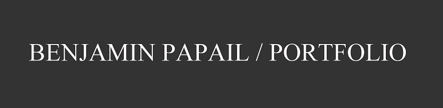 Portfolio Benjamin Papail