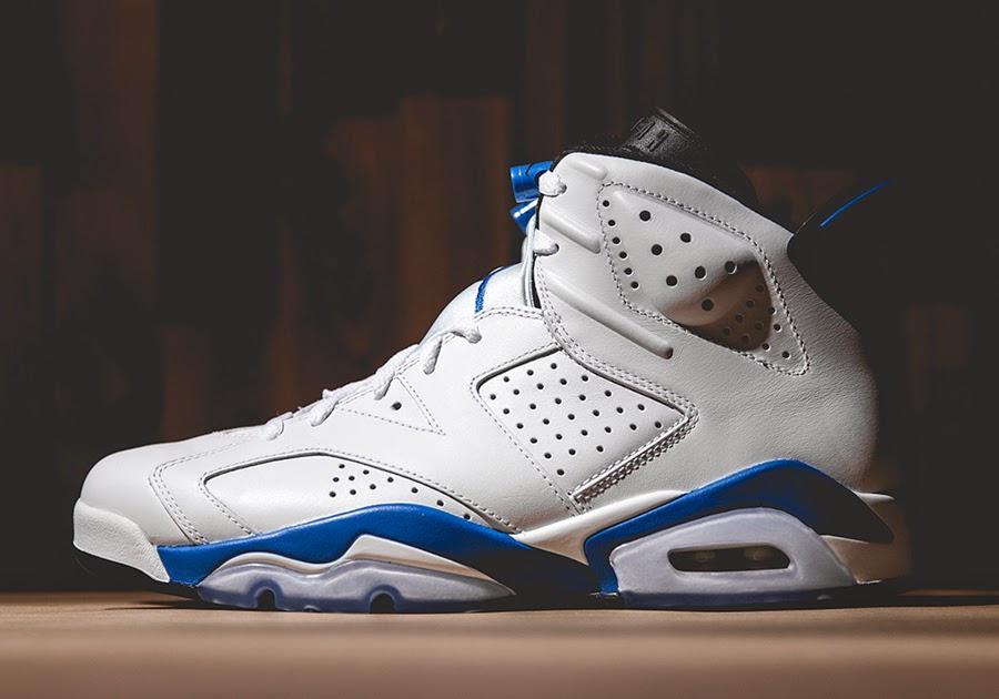 "Air Jordan VI ""Sport Blue"""
