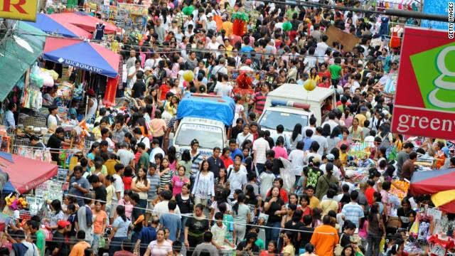 Philippine growing population