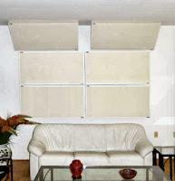 Acoustic panels straddling corners image