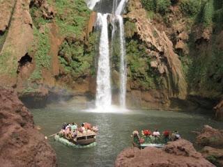Noroeste de Marrakech Cascadas de Ozoud