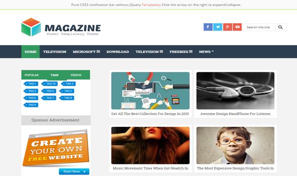 microsoft magazine template