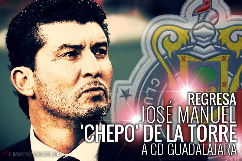 'Chepo' de la Torre fue presentado esta tarde como el nuevo director técnico de Chivas.