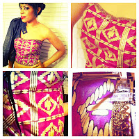 DIY Belts Accessories African Fabrics