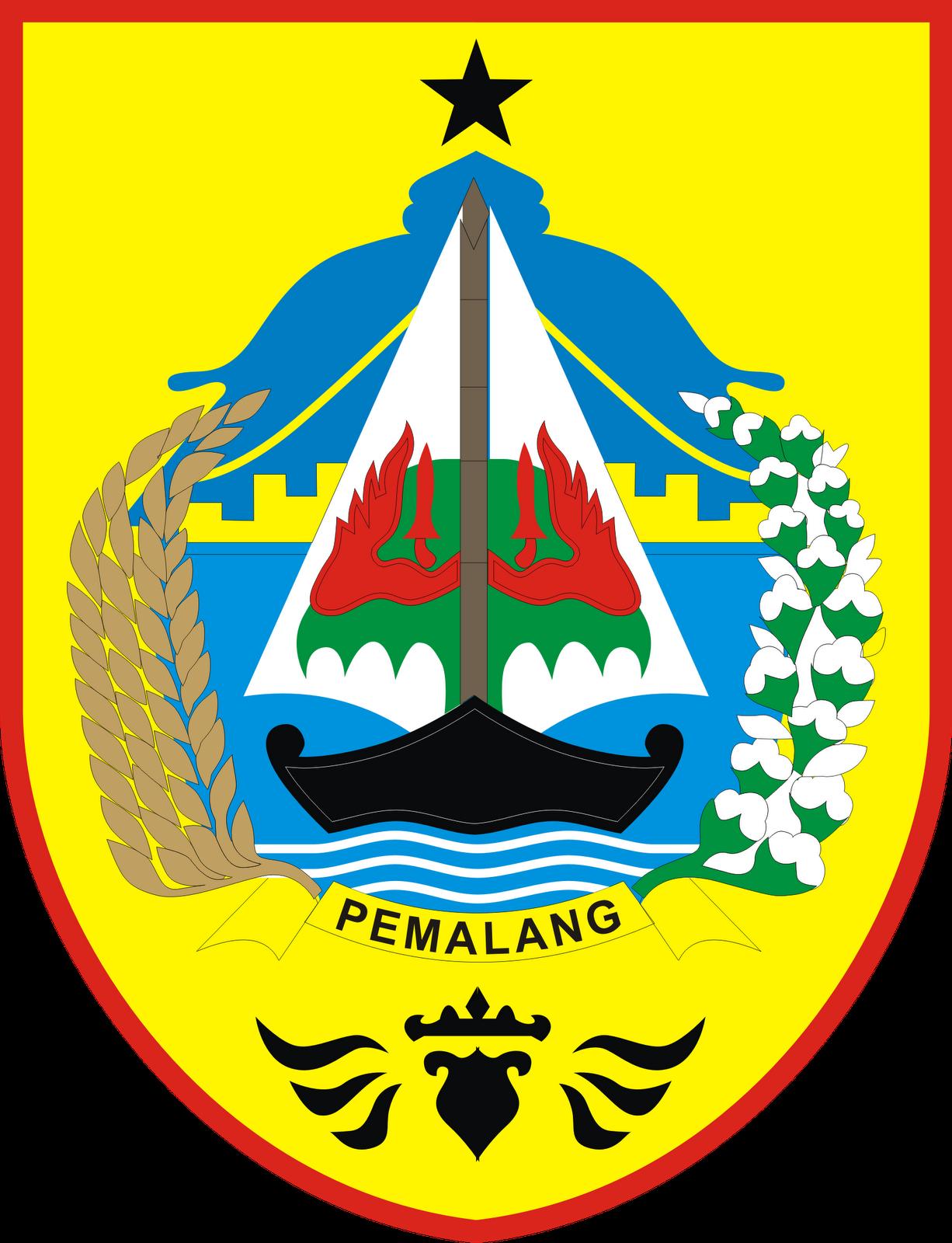 Pemalang Indonesia  City new picture : ... Kabupaten Pemalang Provinsi Jawa Tengah Logo Lambang Indonesia