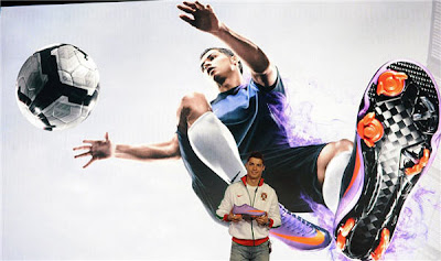 Cristiano Ronaldo : Nike Mercurial Vapor (1)
