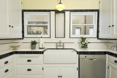 1930s kitchen tile images galleries for 1930 style kitchen cabinets