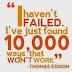 Quote: Tidak Ada Kegagalan Didalam Bisnis