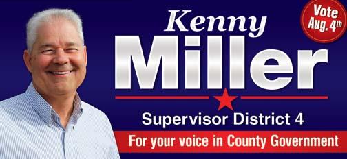 Kenny Miller for Supervisor