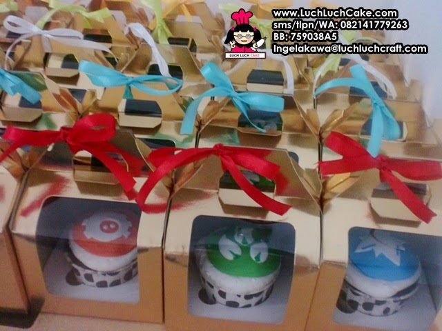Cupcake Souvenir Ulang Tahun Daerah Surabaya - Sidoarjo