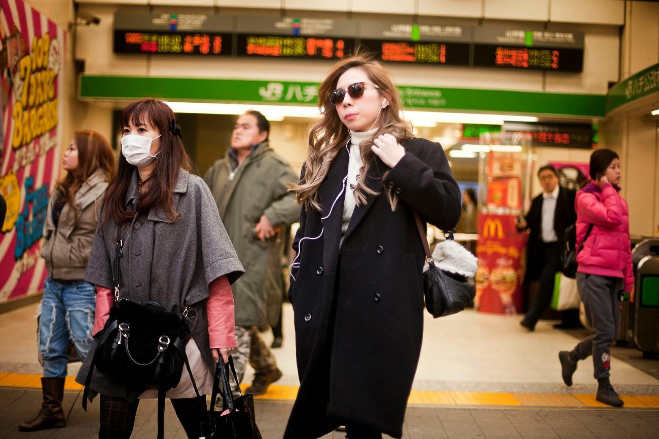 Japonesa en Shibuya