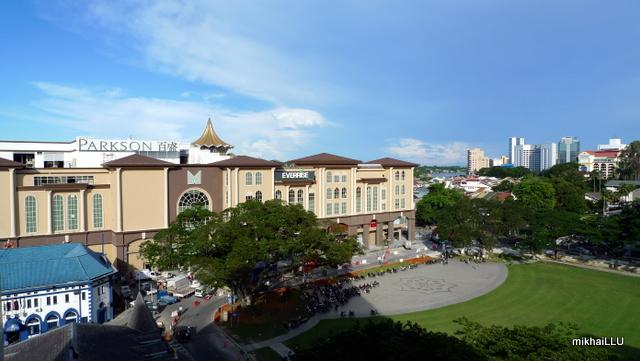 Plaza Merdeka gives downtown Kuching a new skyline