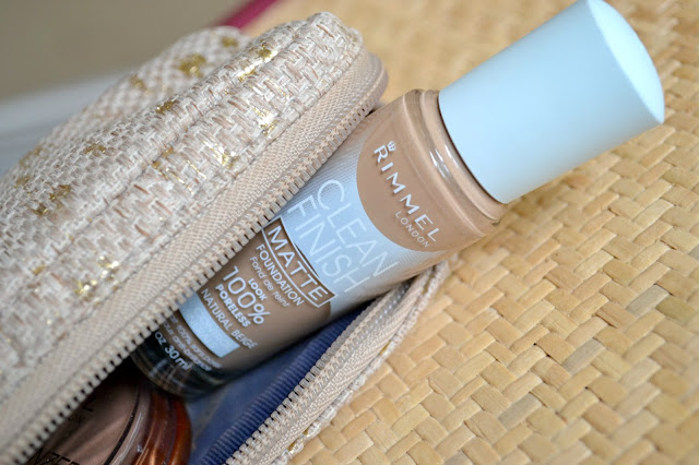 Mommy Testers nude summer makeup trend with Rimmel clean finish matte foundation #cbias