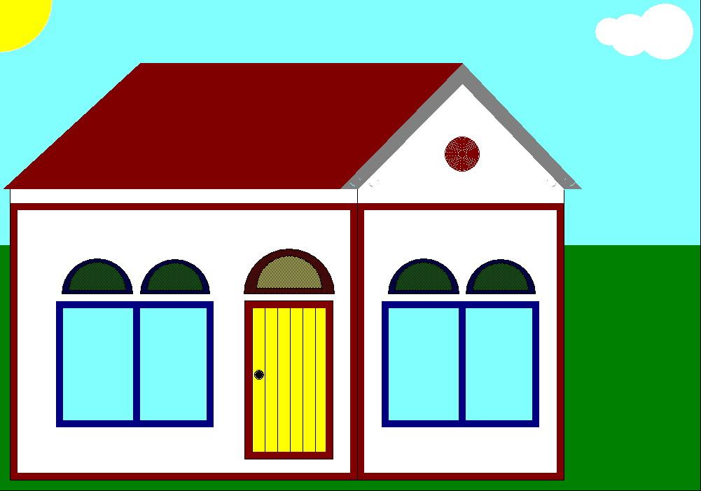 membuat rumah sederhana dengan dev c keymaker