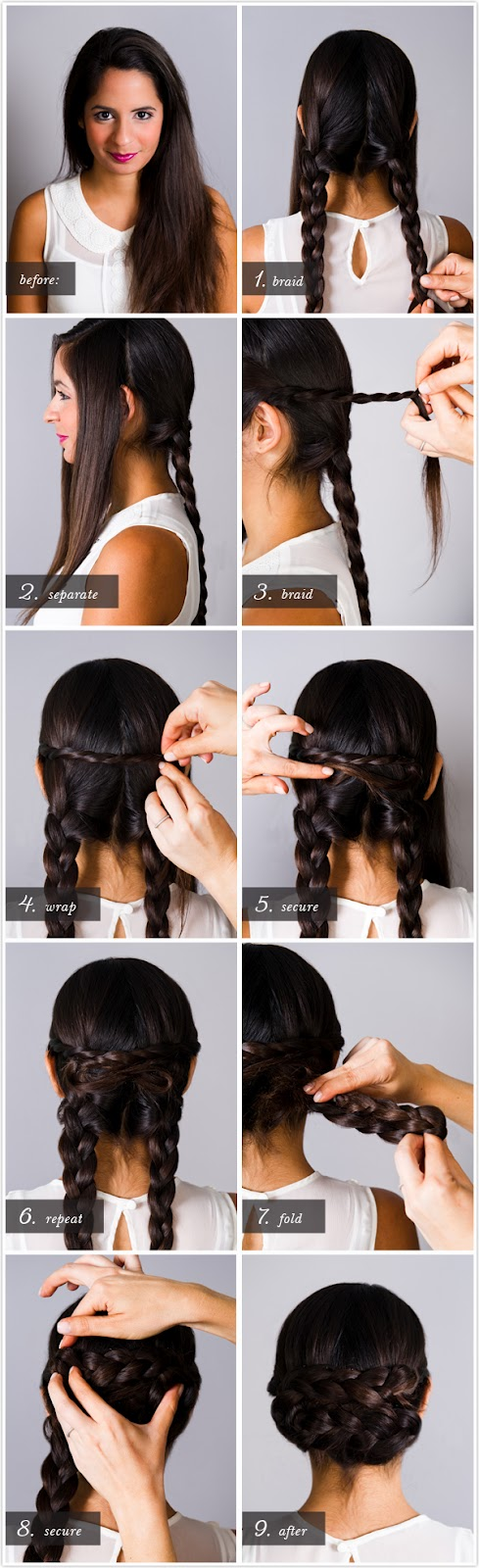 25 Easy Hairstyles With Braidssix Sisters Stuff Six Sisters Stuff