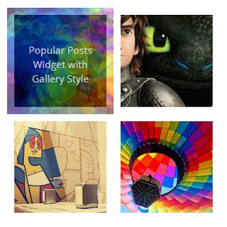 Cara Memasang Popular Post Blogger Gadget 2 Style Keren Abis