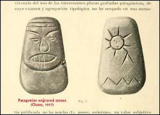 tehuelche engraved rock
