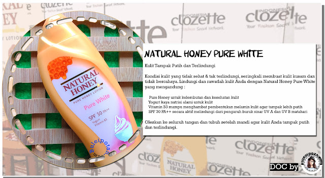 Kemasan 100 ml Natural Honey Pure White