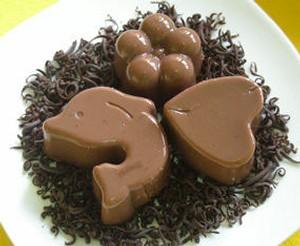resep puding cokelat manis resep