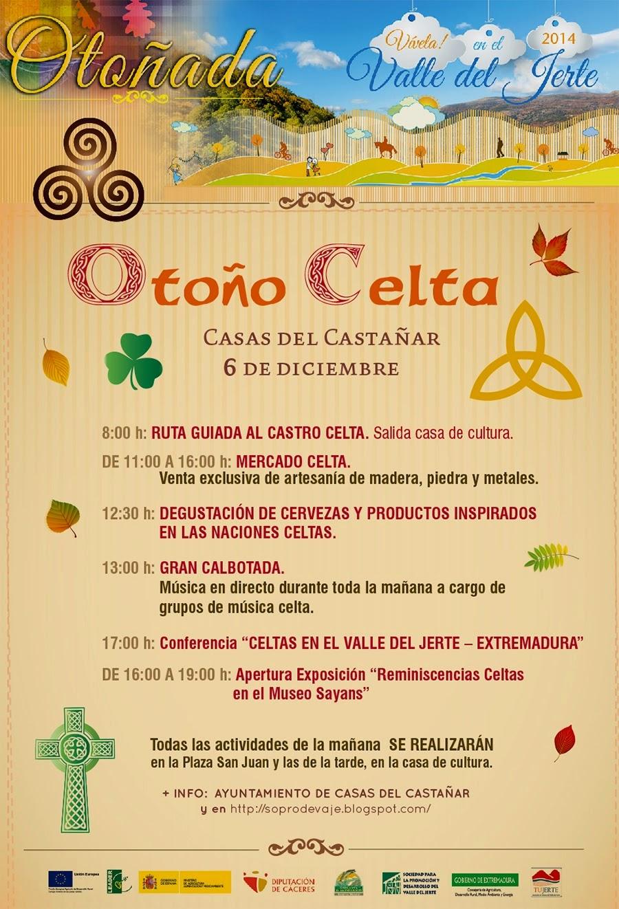 Otoño Celta (6 de diciembre en Casas del Castañar)