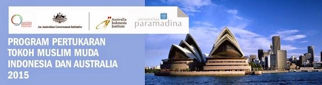 Australia-Indonesia Institute bekerjasama dengan Universitas Paramadina Mengadakan Pertukaran Tokoh Muslim Muda
