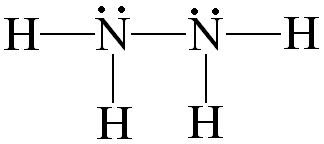 N2h4 Molecule Hydrazine: Pola...