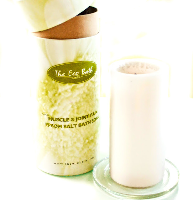 The eco bath muscle and joint pain relief epsom salts