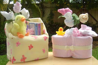 diaper cake chair