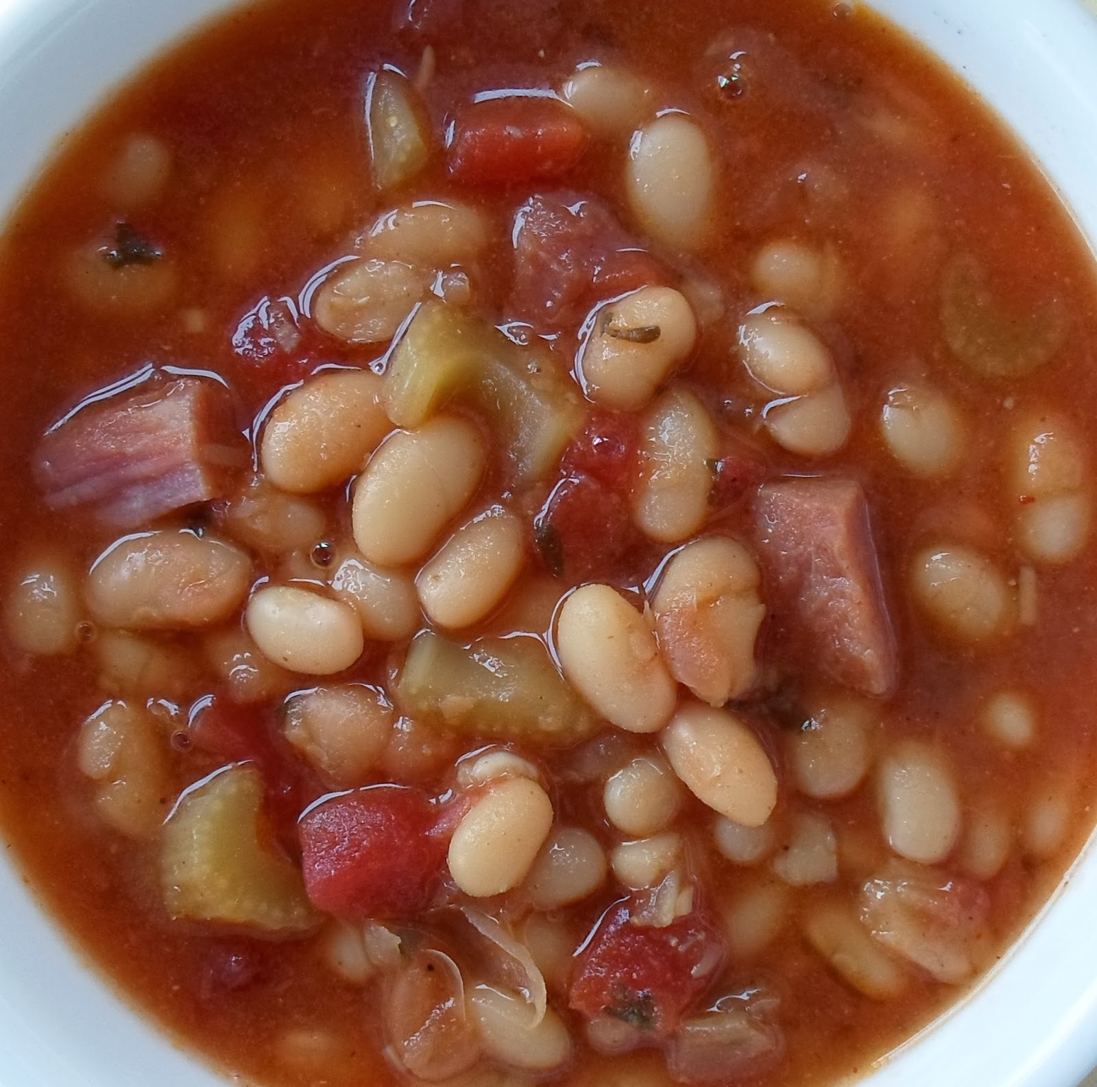 Basic Ham And Bean Soup Recipe — Dishmaps