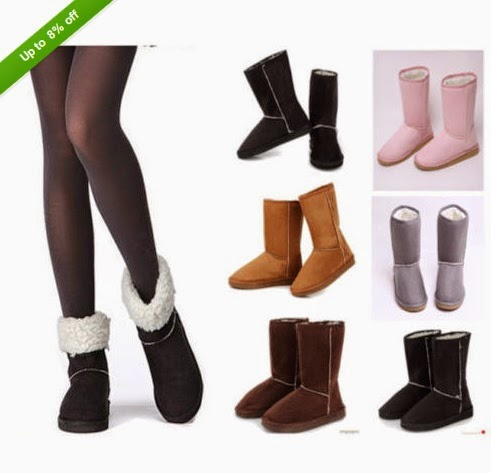 Hot Fashion Womens Lady Winter Warm Snow Boots Shoes,Size US 5-9, 6 Color