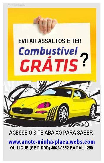 Evite Assaltos em Postos de Combustível e Ganhre Renda Para Seu Combustível!