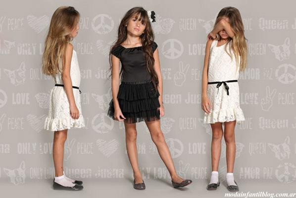 moda infantil invierno 2013 queen juana