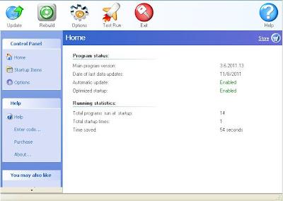 StartUP Faster 3.6 2011 Full