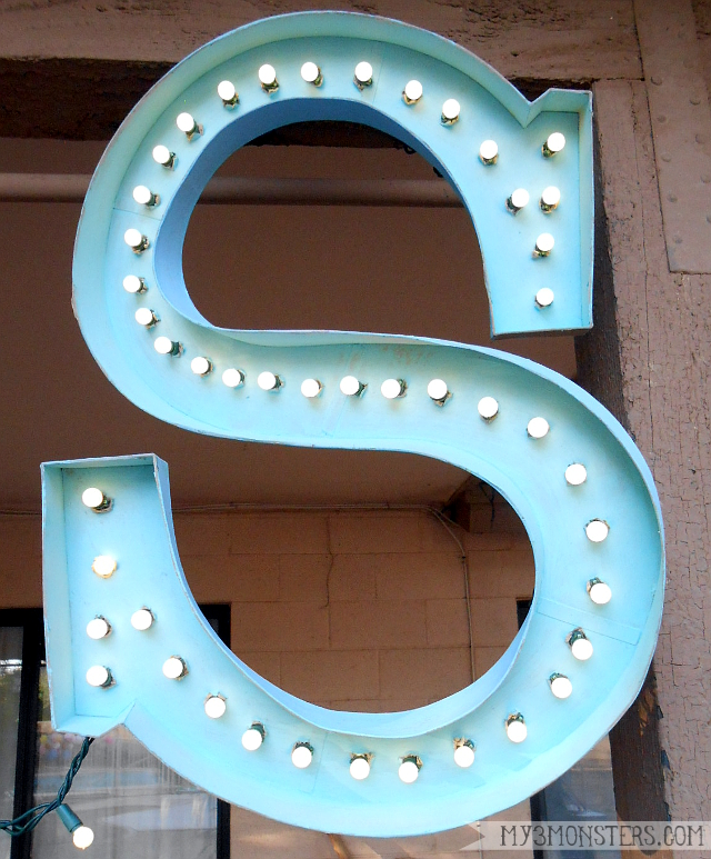 DIY Marquee Letters at my3monsters.com