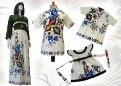 Model baju batik modern 017