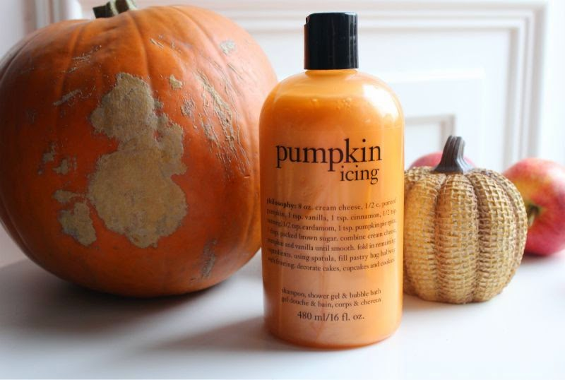 Philosophy Pumpkin Icing Shampoo, Shower Gel and Bubble Bath