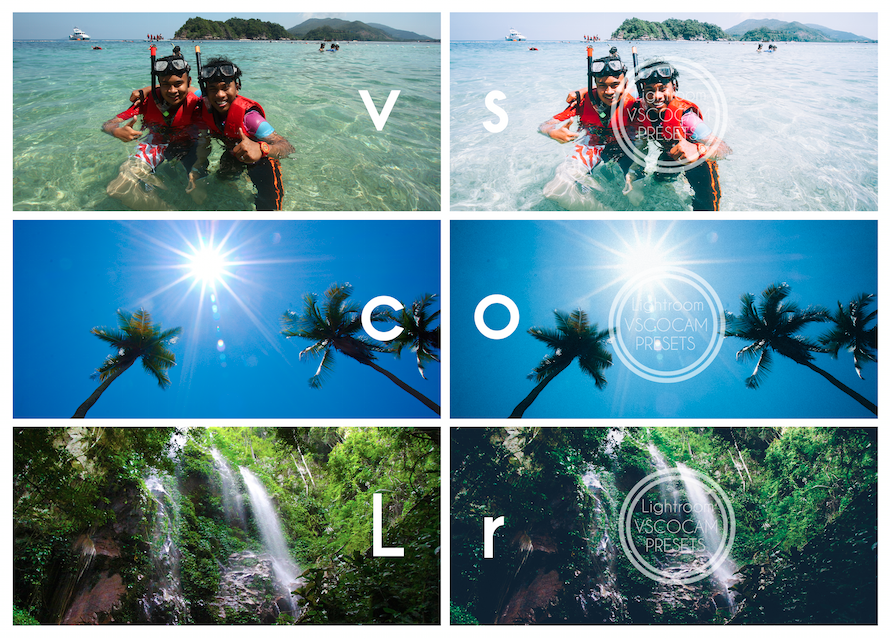 VSCOCAM presets for Adobe Lightroom and Adobe Photoshop