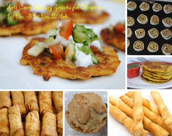 Announcing Event Lets Cook Savory Snacks For Christmas Simply Food