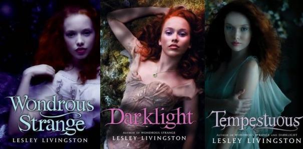 Wondrous Strange Series Books 1 - 3 - Lesley Livingston