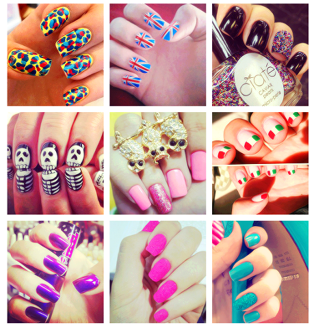 Inspirational nail art idea