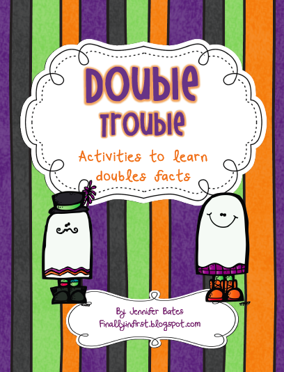 http://www.teacherspayteachers.com/Product/Double-Trouble-Activities-to-learn-doubles-facts-379560
