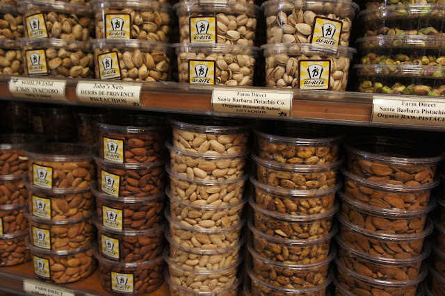 Flavored almonds at Bi-Rite Market in The Mission