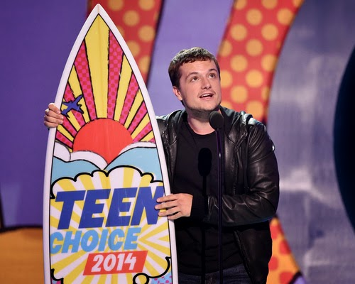 Josh Hutcherson Teen Choice Awards 2014 The Hunger Games Catching Fire