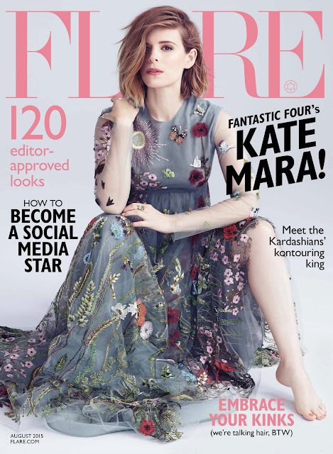 Actress @ Kate Mara by Nino Muñoz for Flare Canada August 2015