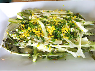 Recipes from 4EveryKitchen: Shaved Asparagus & Fennel Mimosa Salad