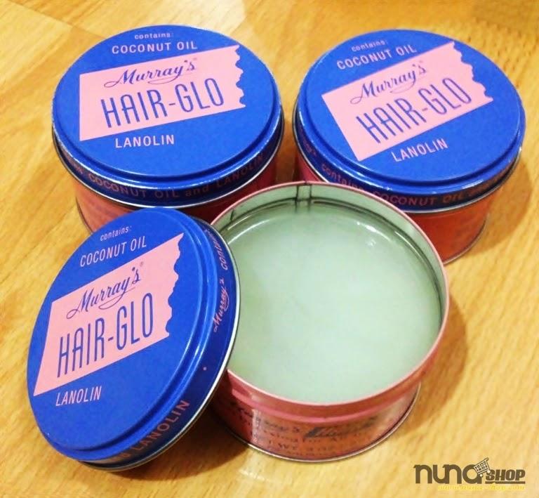 Minyak Rambut Pomade Murrays - Hair Glo (Bikin Rambut Sangat Mengkilap)