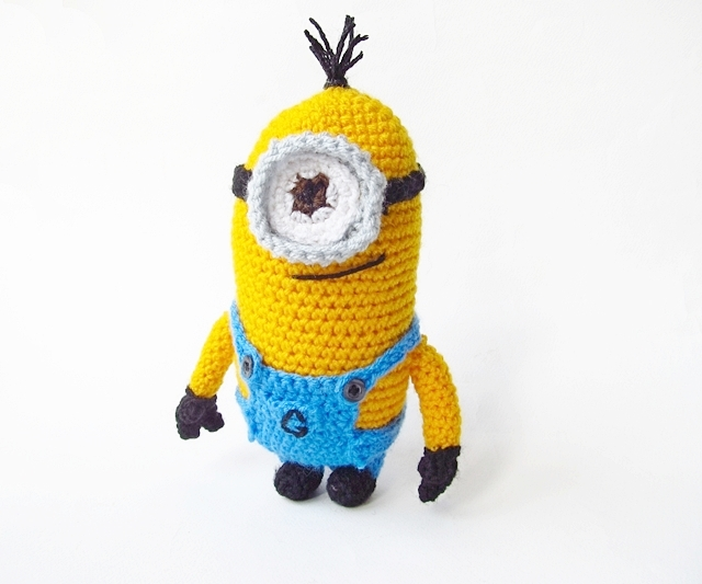 Amigurumi Despicable Me Minion - Little Things Blogged