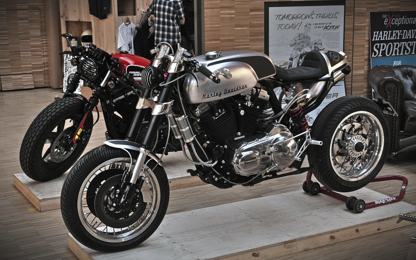 the bike shed paris report 2 inazuma caf racer. Black Bedroom Furniture Sets. Home Design Ideas