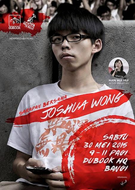 Joshua Wong Datang Ke Malaysia