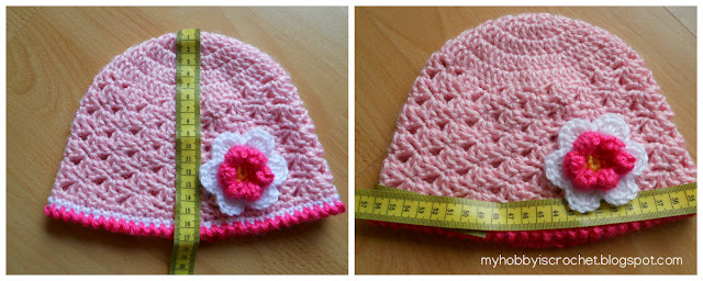 Crochet hat measurements